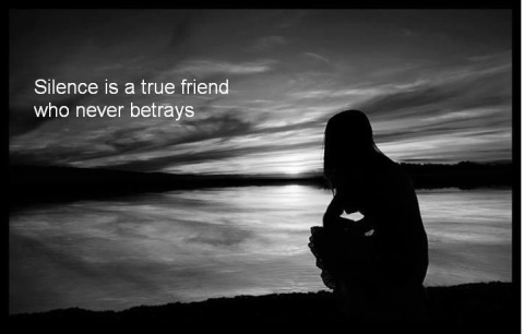 Silence-is-a-true-friend-who-never-betrays