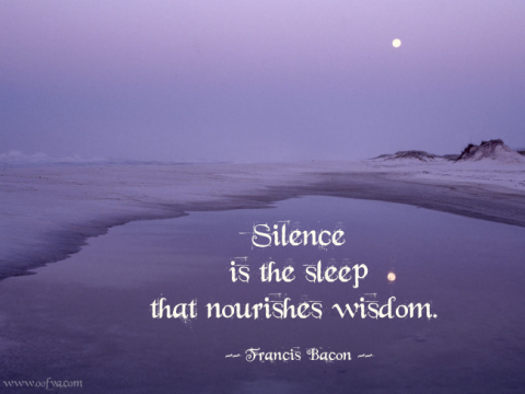Silence-is-the-sleep-that-nourishes-wisdom.-Francis-Bacon